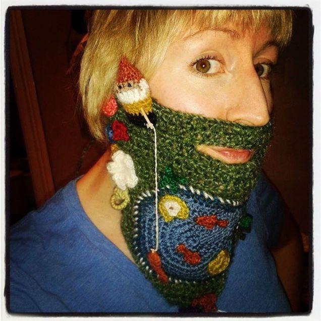 Debs Gnome Fishing Beard