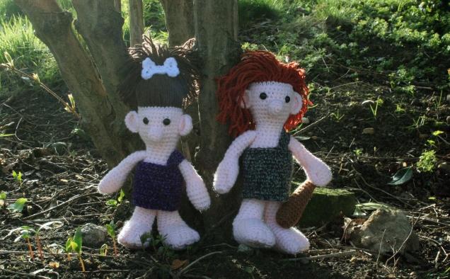 Crochet Cave Folk 2