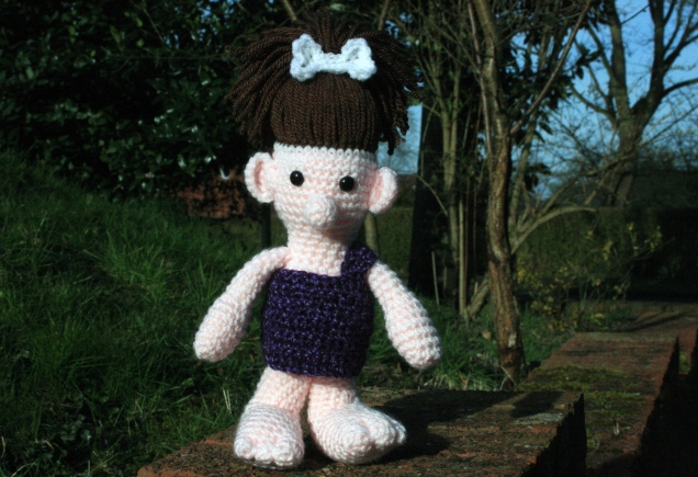 Crochet Cavegirl