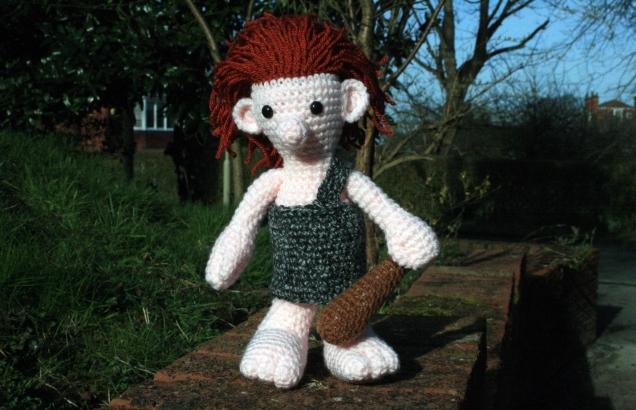 Crochet Caveman