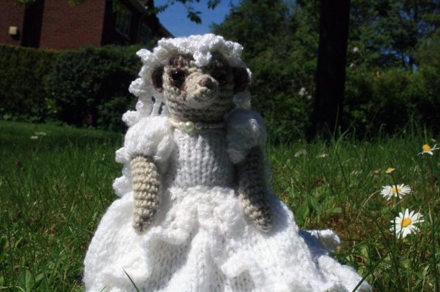 Crochet Meercat Bride 1