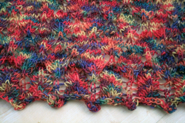 Lace Leaf Shawl Edging