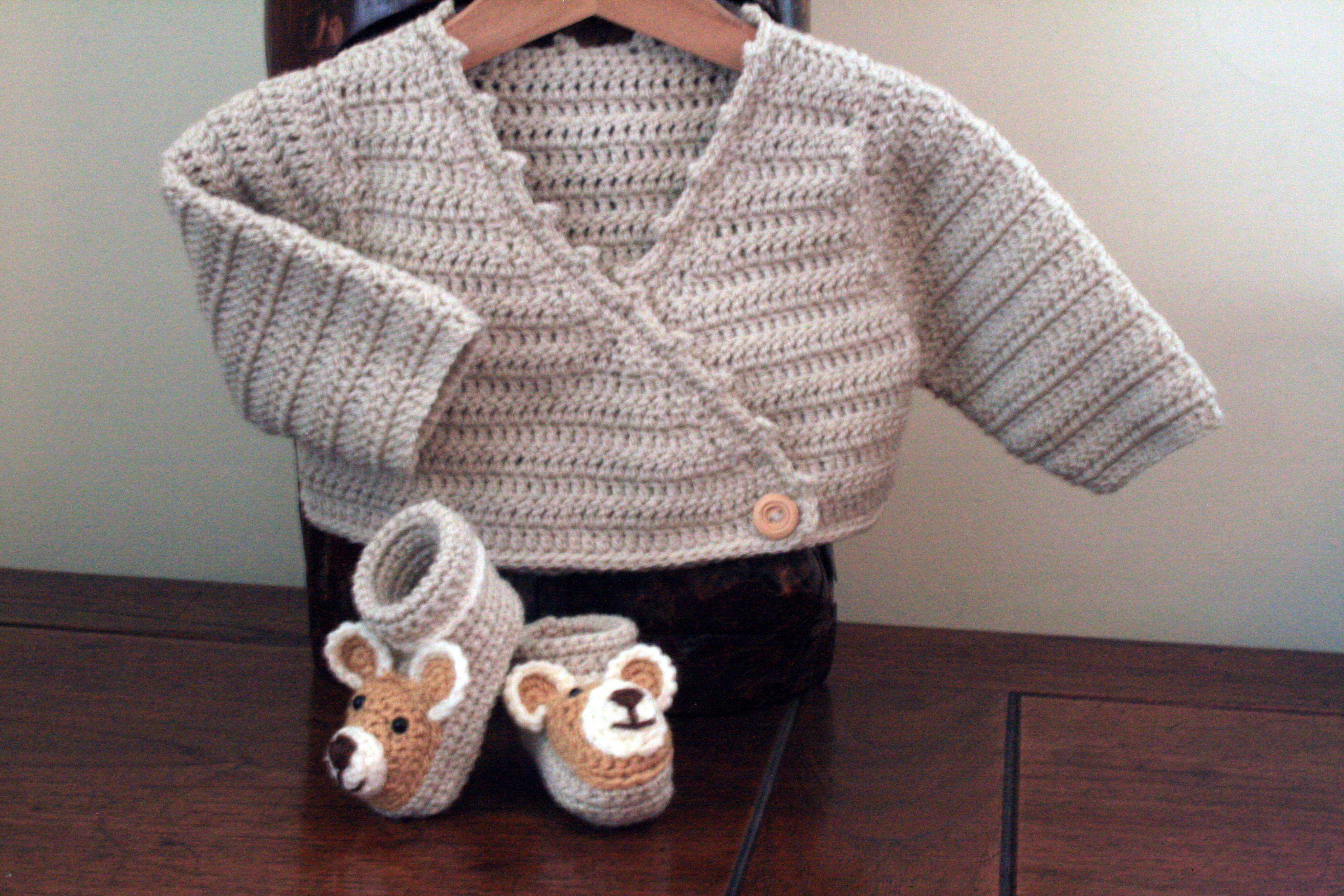 9b7928a1f805 Crochet Baby Jacket