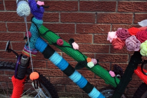 Crochet Bicycle Cross Bar