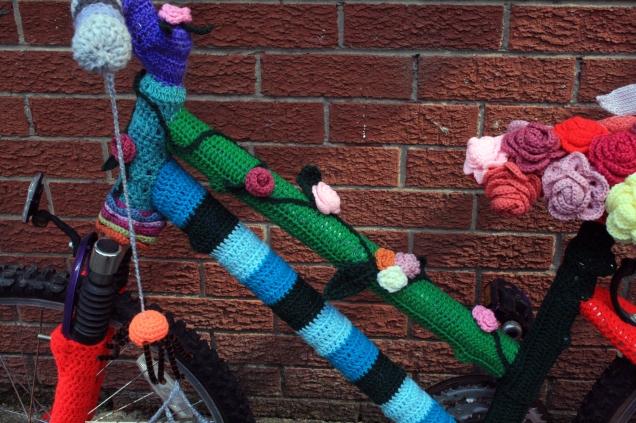 Crochet Bicycle Cross Bar
