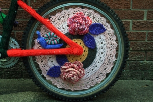 Crochet Bicycle Rear Wheel