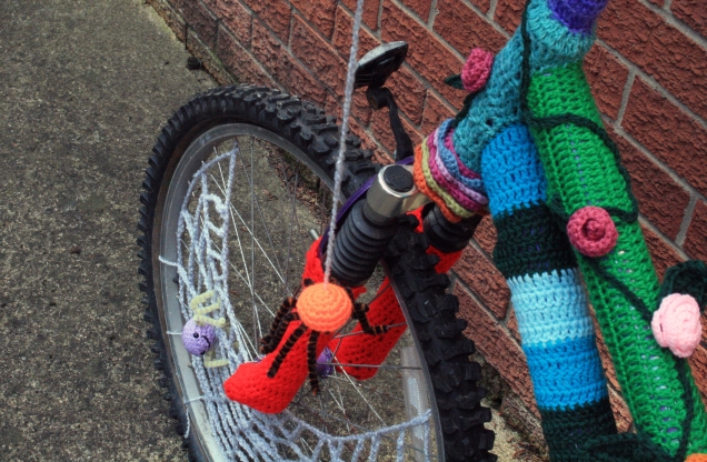 Crochet Bicycle Spider