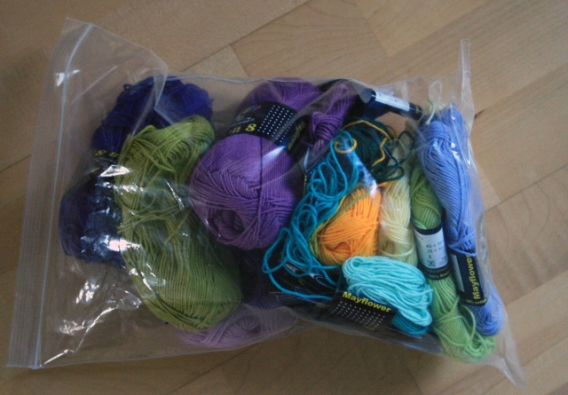 Crochet Mandala For Wink Yarn