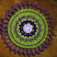 """Mandala For Wink """"A Creative Being"""""""