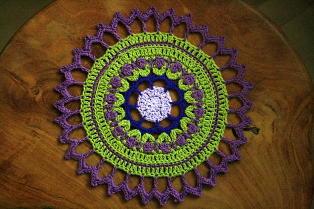 Crochet Mandala for Wink