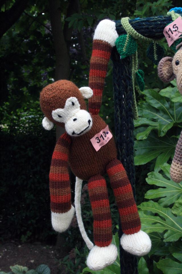Jungle Stripy Monkey