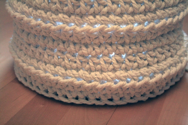 Crochet Work Basket