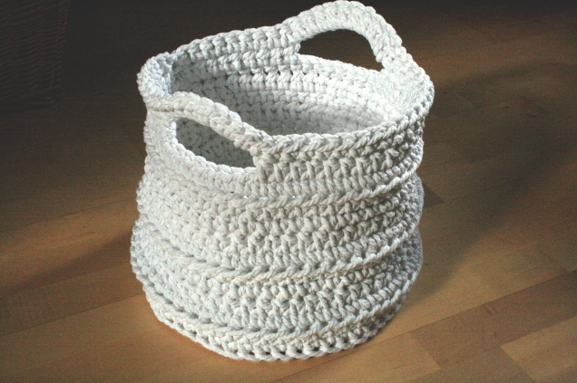 Crochet Work Basket 7